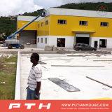 La estructura de acero de construcción de la construcción de proyectos para casas prefabricadas