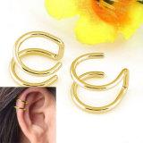 Pendientes con clip ningunos pendientes de clip perforados del oído de Earcuff de la No-Perforación