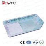 Pré-impresso MIFARE (R) 1K PVC CARTÃO RFID para controle de acesso