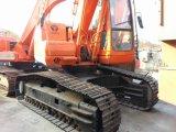 Máquina escavadora usada 220LC-5 da esteira rolante de Hyundai para a venda