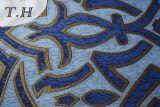 Tecido de sofá de jacquard Chenille de tiragem de sete cores