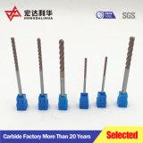 Ferramentas de corte em Torno CNC Micro 2 flautas extremidade quadrada Mills/carboneto de tungsténio Televisão Endmill Fresa/Shell Moinhos Final Size