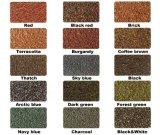 Peso ligero colorido Teja metálica recubierta de piedra estilo diferencia Mosaico en Africa
