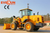 Pallet Forksの2016新しいEverun Construction Equipments 3 Ton Small Wheel Loader