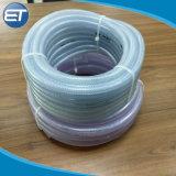 多彩で適用範囲が広く明確なプラスチックPVC/PU/TPUの編みこみの管のホース