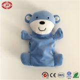 Draag de Blauwe Aanbiddelijke Bespreking van de Emotie met de Grappige Handpop van de Baby