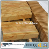 床タイルの壁のクラッディングのタイルのための黄色い砂岩平板