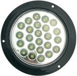 """LED 4"""" 둥근 정지 회전 테일 빛 Tl17"""