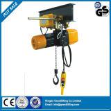 palan électrique à chaîne de type F avec chariot électrique
