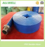 Пластиковый ПВХ воды гибкий шланг Layflat орошения садов шланг