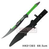 Лезвие тактических ножей ножей звероловства фикчированное