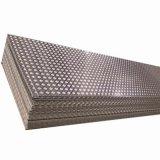 Acier laminé à froid en acier inoxydable gaufré SS304 Plaque de feuille