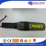 Mejor venta de mano detector de metales Secuscan AT-2008 escáner de seguridad para el cuerpo humano