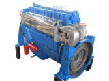 Dieselmotor 256kw mit Kupplung für Pumpe
