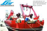 Hidráulico eléctrico una nave de Expediture de la grúa de la cubierta del marco
