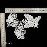 Baumwollguipurespitze-Spitze-Ordnung, afrikanische Netzkabel-Spitze Trimchest Blume, Baumwollspitze-Paar Wholesale X055