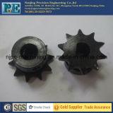 Kundenspezifisches schwarzes Oxid-Beschichtung-Metall-CNC-maschinell bearbeitendes Kettenkettenrad