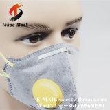 Mascherina piegante della polvere facciale di bambù del carbone di legna del carbonio dello smog di Niosh Ffp1 Ffp2 Ffp3
