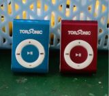 Venda Por Atacado Mini clip MP3 Music Player Free Logo
