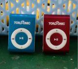 Оптовая торговля дешевые мини-Clip MP3 проигрыватель музыки бесплатный логотип