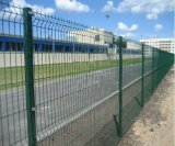 PVCは機密保護によって溶接された金網の塀か塀のパネルに塗った
