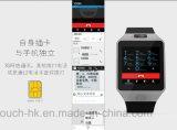 3G impermeabilizan el teléfono elegante del reloj con la supervisión de salud Qw09
