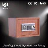 디지털 전자 가정 안전한 상자, 2개의 놀이쇠를 가진 단단한 강철 안전 상자