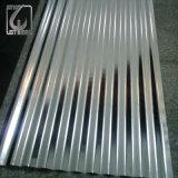 Покрытие цвета CGCC Az80 Prepainted застекленный рифленый лист