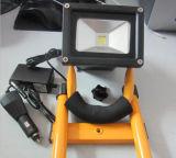 새로운 휴대용 재충전용 LED 투광램프