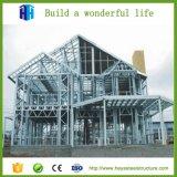 Chalet prefabricado de lujo prefabricado del edificio de marco de la estructura de acero