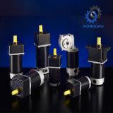 40W de alta calidad a bajas revoluciones del motor eléctrico dc con caja de engranajes_D
