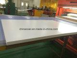 лист для печатание, пластичный лист PVC толщиной белой Matt пластмассы 0.7mm твердый PVC