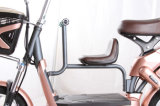 Biciclette elettriche dei motorini del litio del pedale, bici elettrica con la sede del bambino