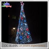 Flexibler LED-Streifen-Licht-Weihnachtskegel-Baum-im Freienlicht