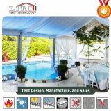Freie Überspannung Aluminium-Belüftung-Festzelt-Zelt mit seitlicher Glaswand