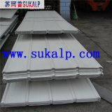 Panneaux ondulés de toiture en métal
