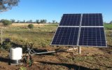 Gleichstrom-Wechselstrom schwanzlos Bulit-in der Controller-Sonnenenergie-Pumpe