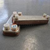 구리에 의하여 놋쇠로 만들어지는 격판덮개 열교환기 콘덴서 고온 이동 효율성