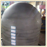 ステンレス製タンクのための半球によって皿に盛られるヘッド