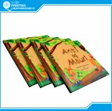 Impressão do livro de crianças da cor do Hardcover A4