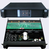 実験室のGruppen Fp10000q SMPSの電力増幅器