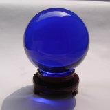 Азиатская цветастая ясная волшебная сфера стекла кристаллический шарика