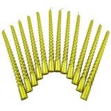 Fuentes decorativas de la vela del espiral del rezo de la iglesia