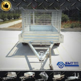 Light Duty Single Axle Farm Cage Trailer avec service personnalisé