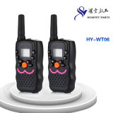 Display (HY-WT06)를 가진 Design 지능적인 UHF Pocket Handheld Walkie Talkie
