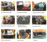 compressor pequeno do rolo Vibratory de cilindro 1000kg de aço (FYL-880)