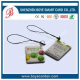 Модная Epoxy карточка Keychain с Barcode