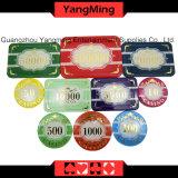 Chipset-kundenspezifisches Plastikacrylkasino-Chipset mit Aluminiumfall (YM-SCMA001)