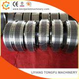 ステンレス鋼のリングは供給の餌の製造所機械のために停止する