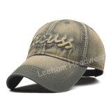 Nuovo berretto da baseball adatto lavato del ricamo di modo enzima